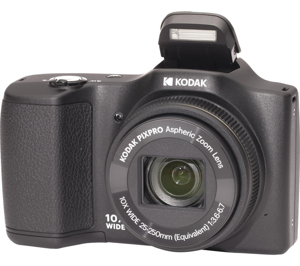 Kodak Pixpro Fz101 Compact Camera Black Black