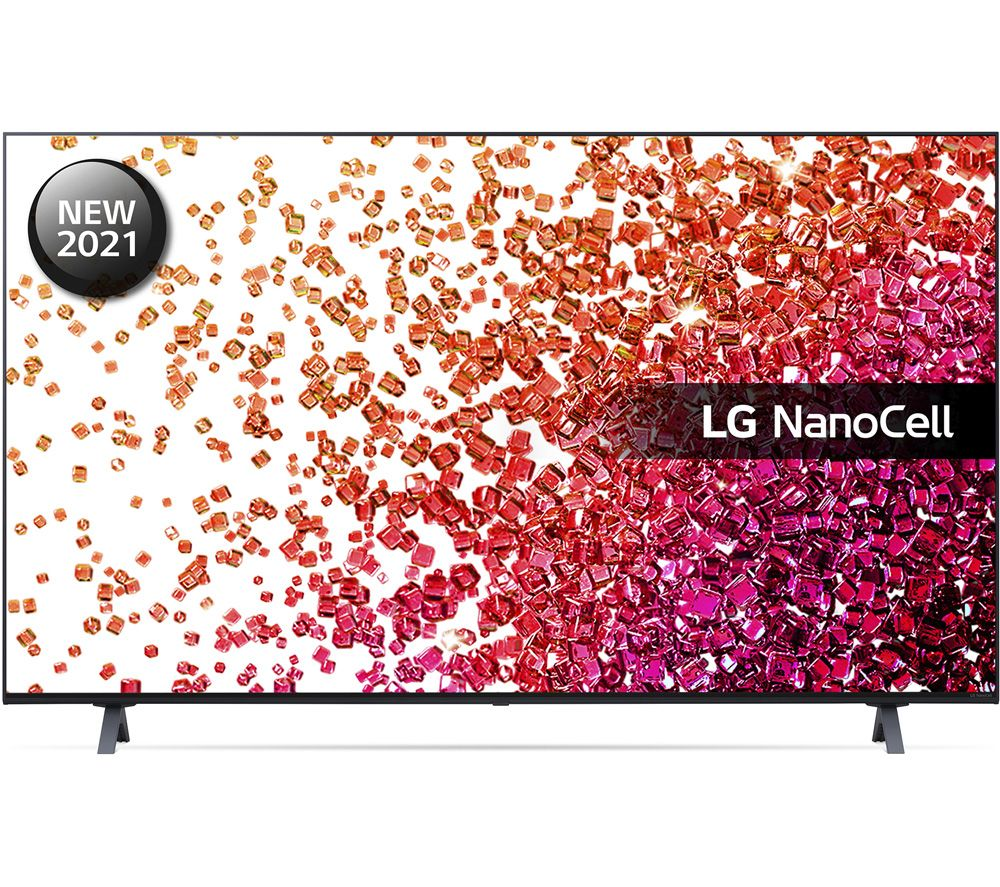 "LG 55NANO756PA 55"" Smart 4K Ultra HD HDR LED TV with Google Assistant & Amazon Alexa"