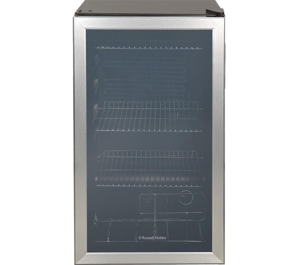 RUSSELL HOBBS RHBC48SS Drinks & Wine Cooler - Stainless Steel, Stainless Steel