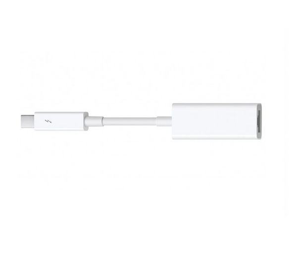 buy apple thunderbolt gigabit ethernet adapter free delivery currys. Black Bedroom Furniture Sets. Home Design Ideas