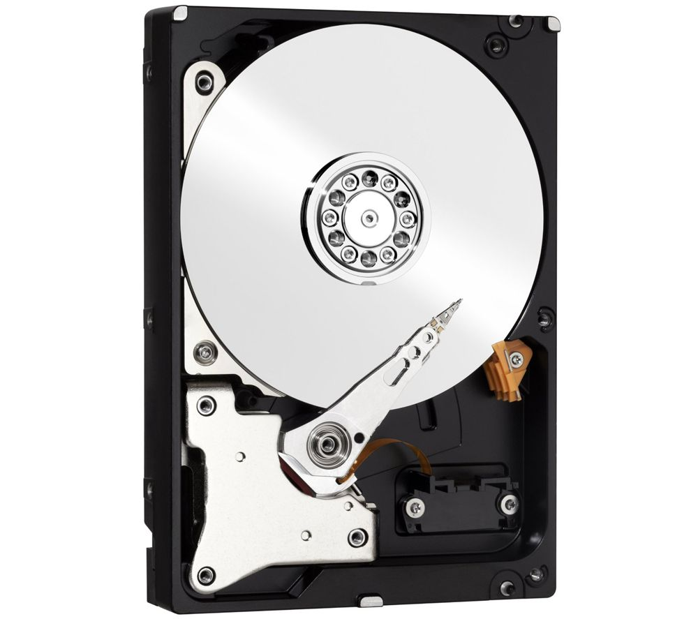 "WD Red 3.5"" Internal Hard Drive - 2 TB + 3.5"" USB 2.0 SATA IDE Hard Drive Enclosure"