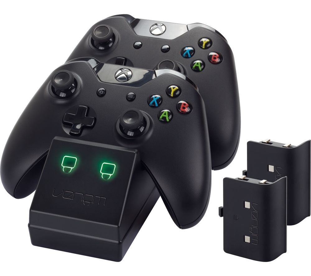Buy venom vs2851 xbox one twin docking station free for Housse manette ps4