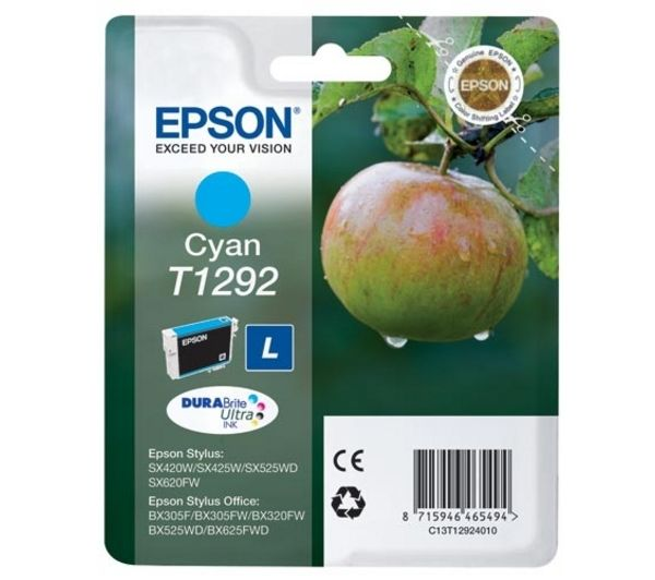 EPSON Apple T1292 Cyan Ink Cartridge