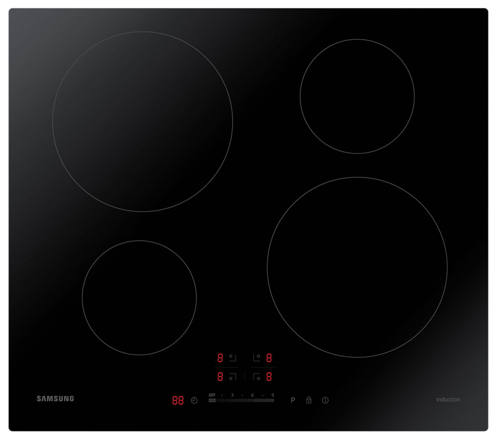 SAMSUNG NZ64H37070K Electric Induction Hob - Black