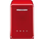 SMEG DF6FABR2 Full-size Dishwasher - Red