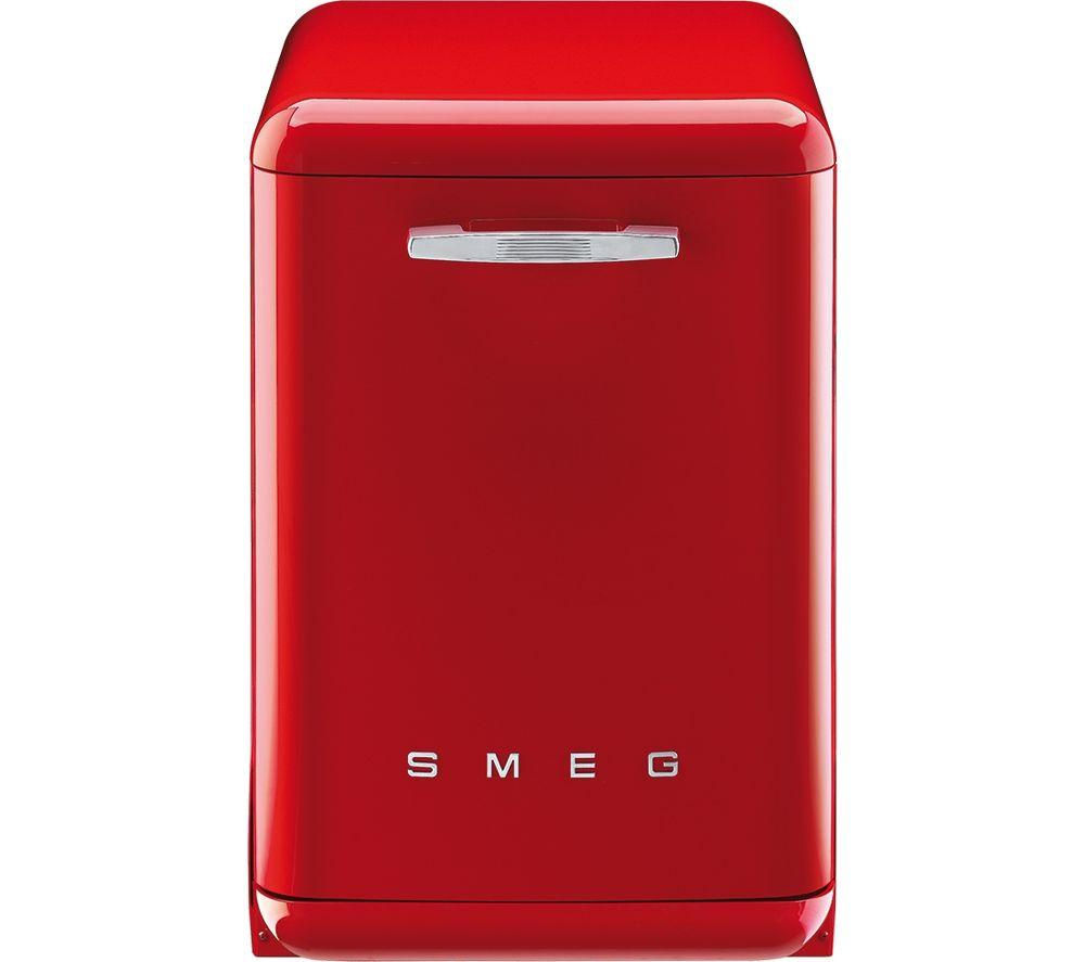 Buy Smeg Df6fabr2 Full Size Dishwasher Red Free