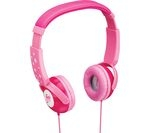 GOJI GKIDPNK15 Kids Headphones - Candy Pink