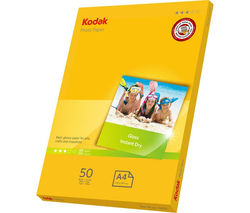 KODAK 5740-513 A4 Photo Paper - 50 Sheets