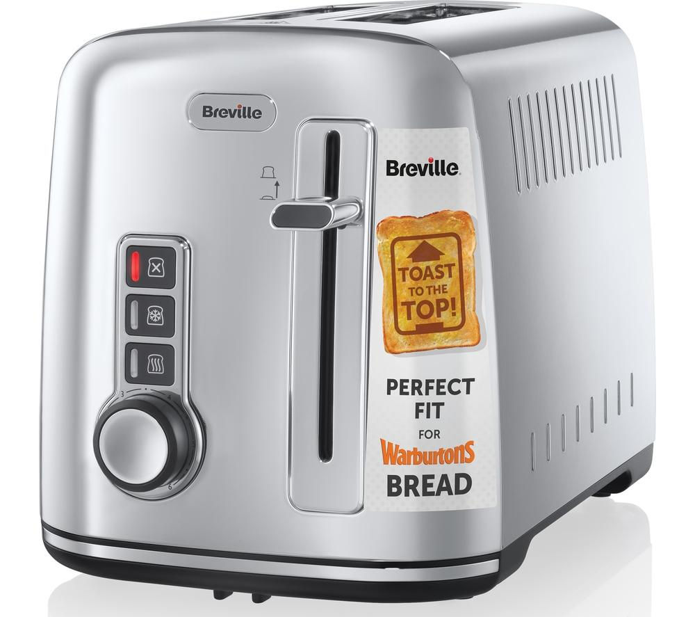 Buy breville the perfect fit for warburtons vtt570 2 slice for Perfect kitchen stainless