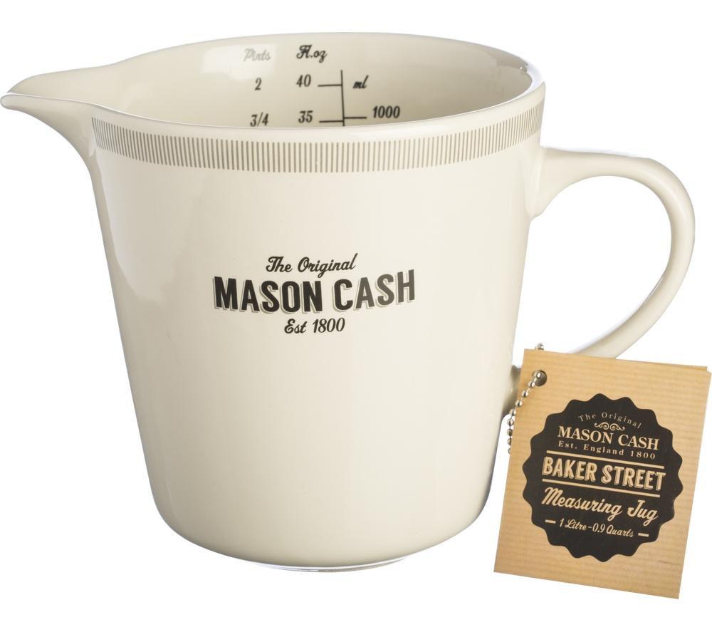 MASON CASH Baker Lane 1-Litre Measuring Jug - Cream & Grey