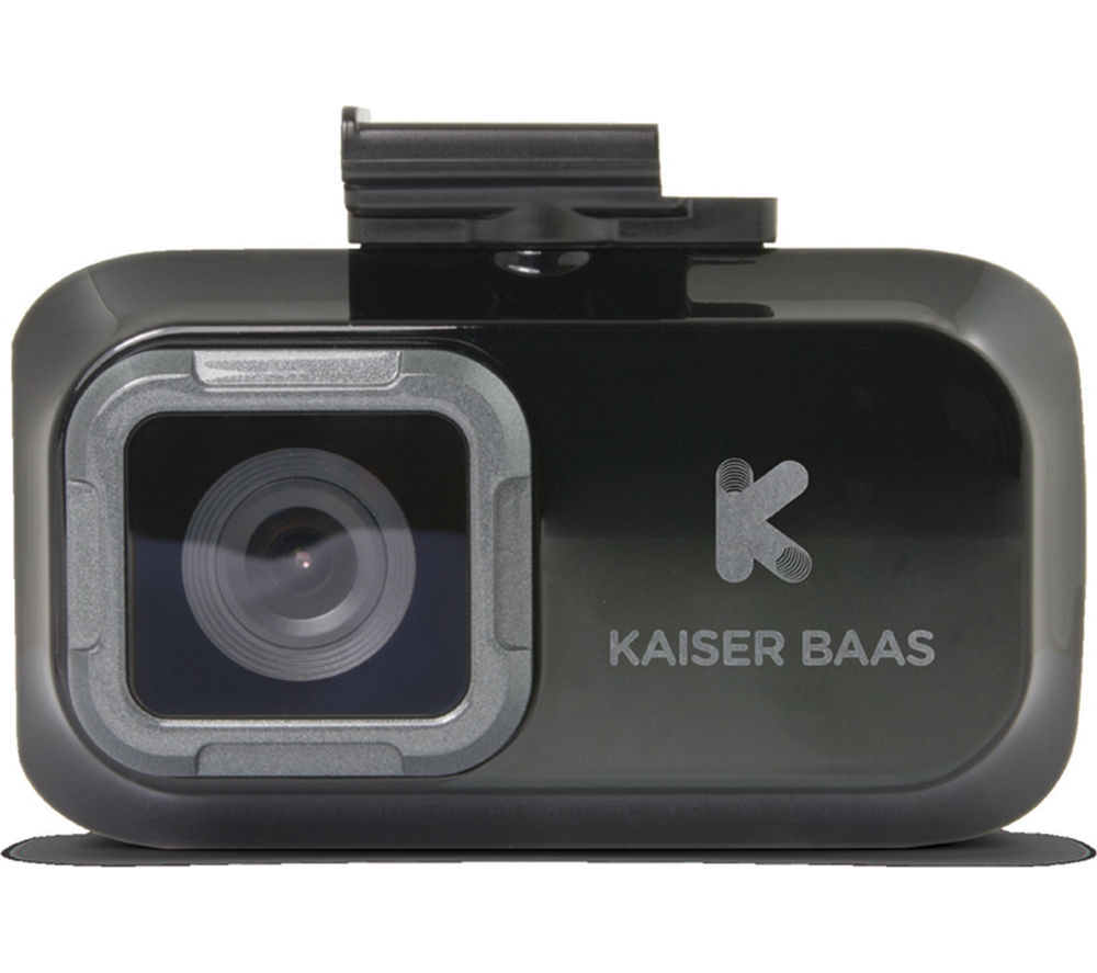 KAISER BAAS R20 Dash Cam - Black + Ultra Performance Class 10 microSD Memory Card - 16 GB