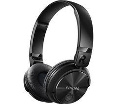 PHILIPS SHB3060BK Wireless Bluetooth Headphones - Black