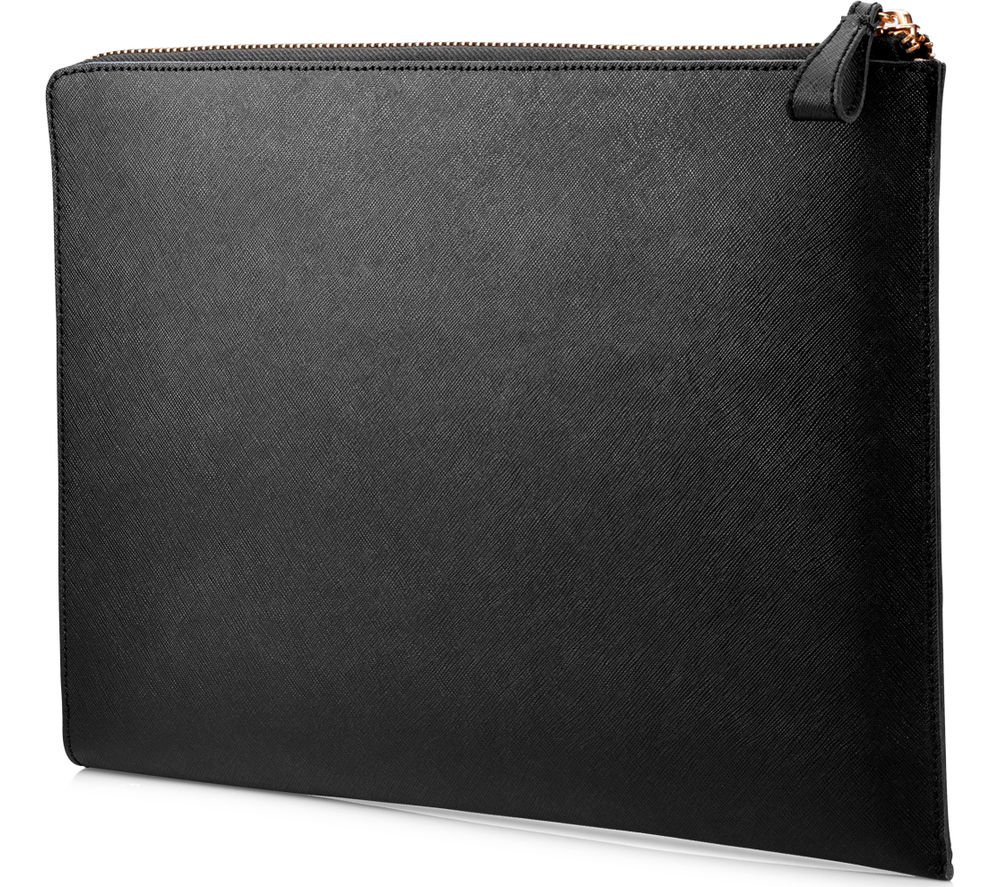 "HP Spectre 13.3"" Leather Laptop Sleeve - Black"
