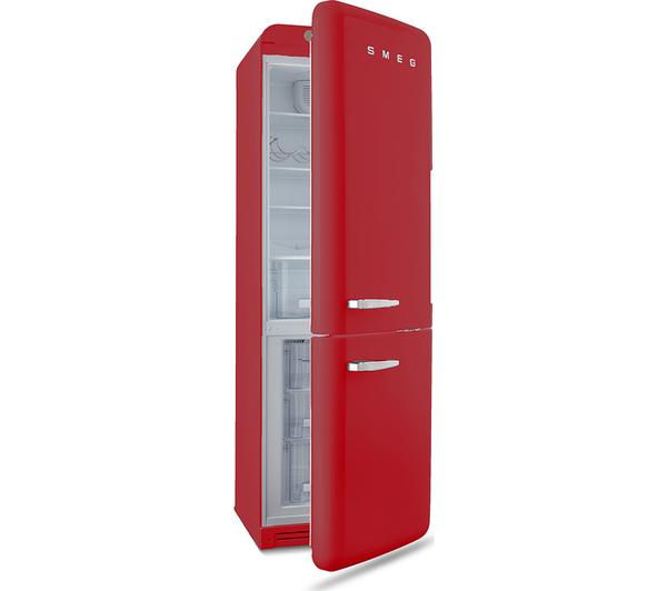 buy smeg fab32lnr 60 40 fridge freezer red free. Black Bedroom Furniture Sets. Home Design Ideas
