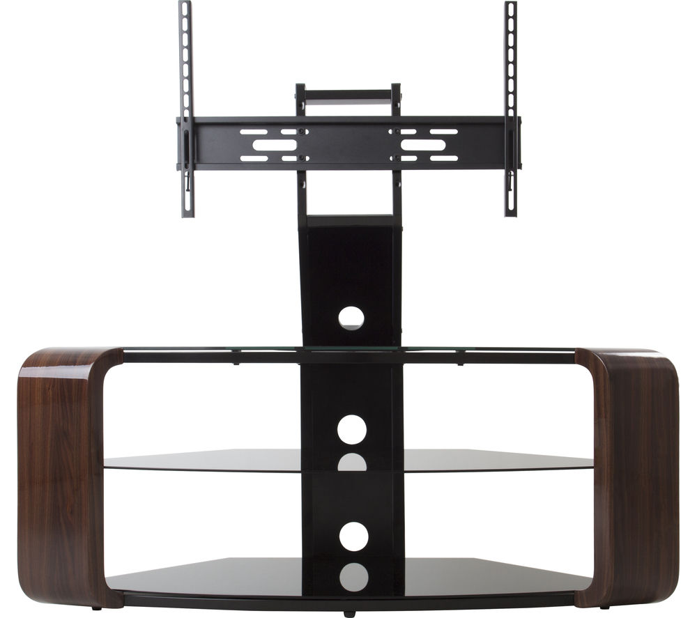 buy avf como fsl1174cow tv stand with bracket walnut free delivery currys. Black Bedroom Furniture Sets. Home Design Ideas