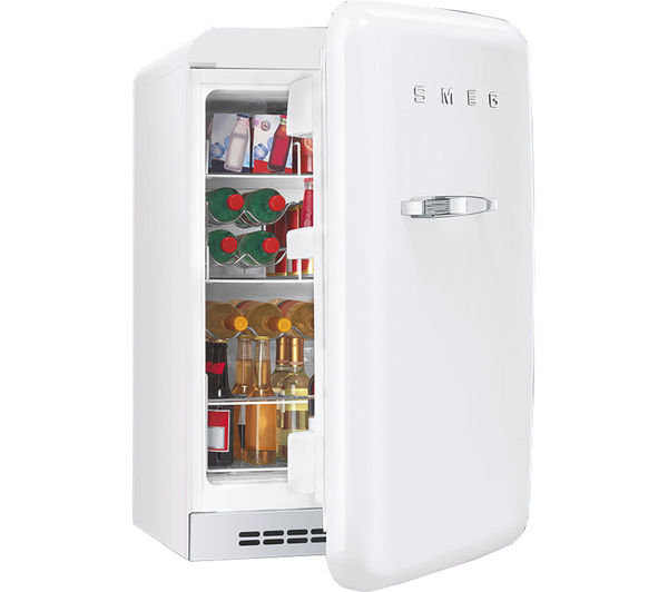 Buy Smeg Fab10hrb Mini Fridge White Free Delivery Currys