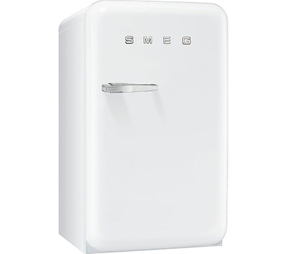 SMEG FAB10HRB Mini Fridge - White, White