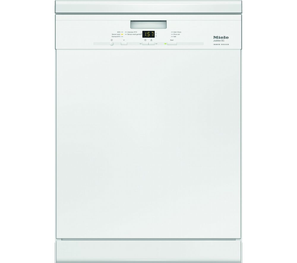 buy miele g4940sc full size dishwasher white free delivery currys. Black Bedroom Furniture Sets. Home Design Ideas