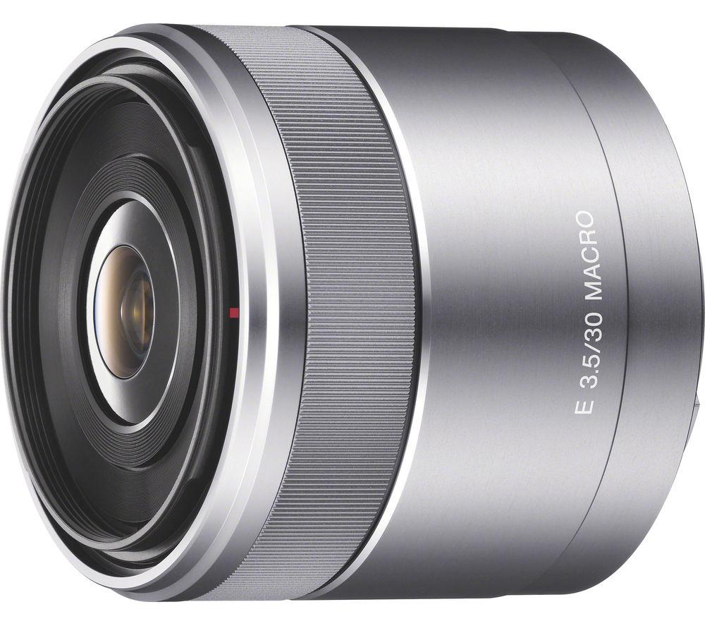 SONY E 30 mm f/3.5 Macro Lens