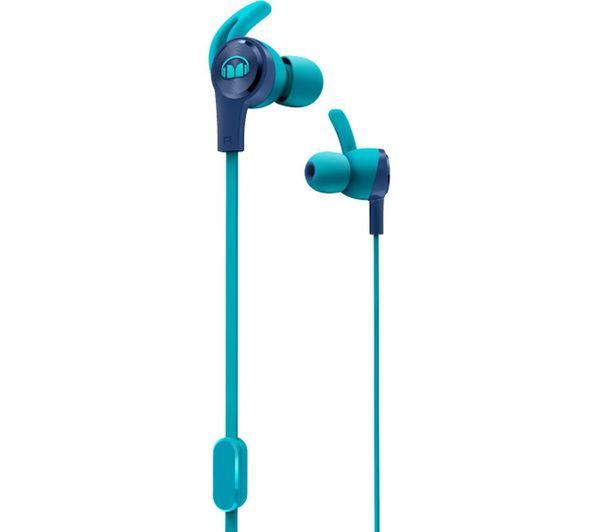 Image of MONSTER iSport Achieve Headphones - Blue