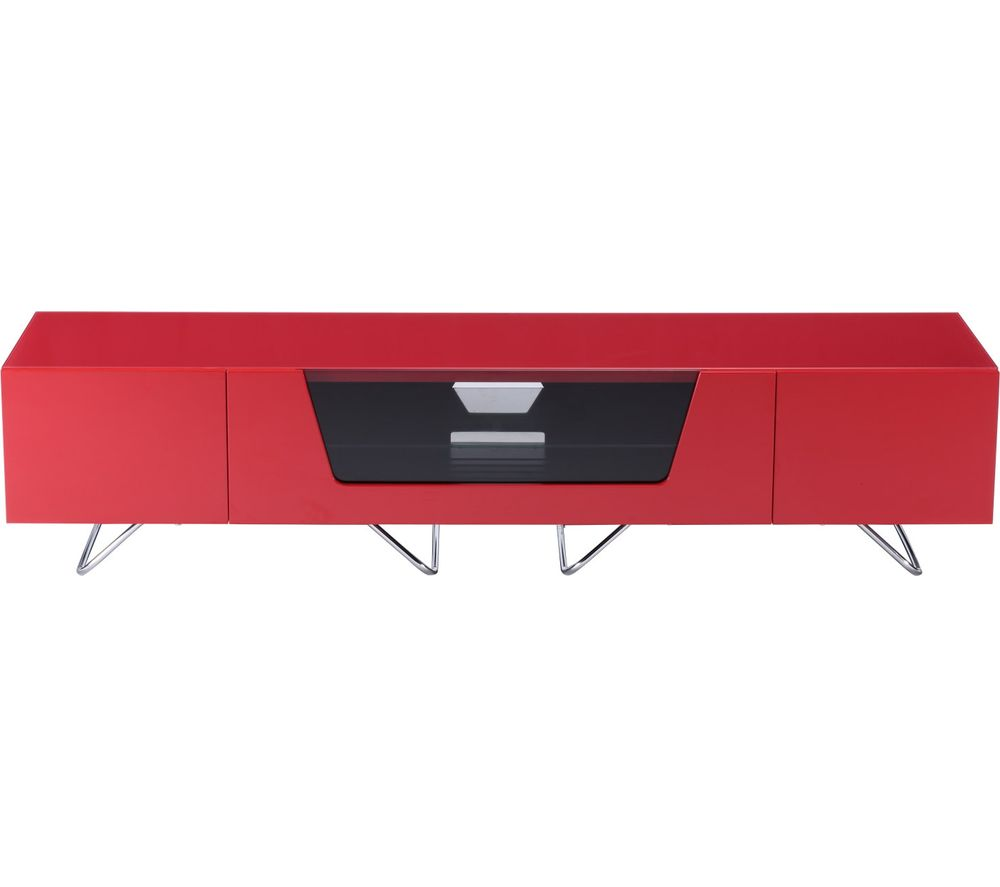 ALPHASON Chromium 2 1600 TV Stand - Red