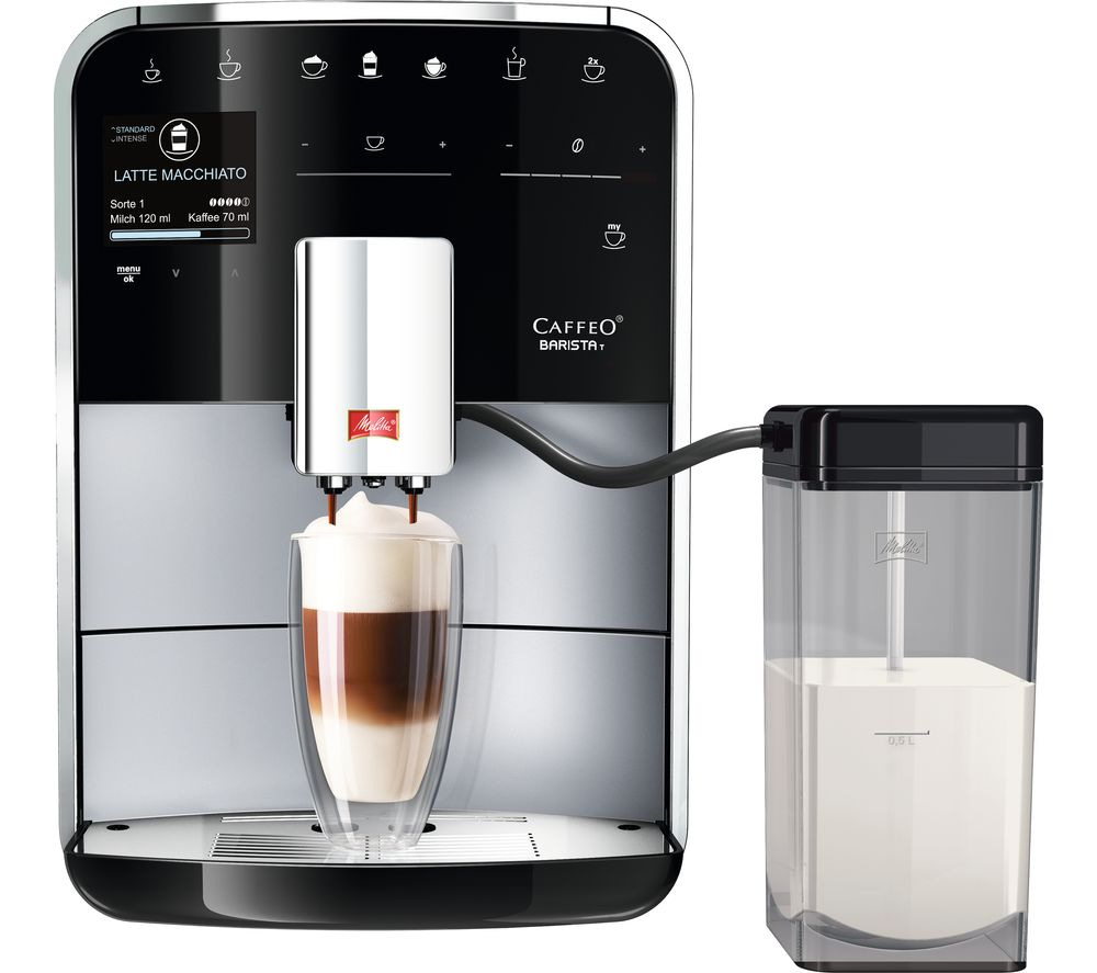 Bean To Cup Coffee Machine With Milk Frother