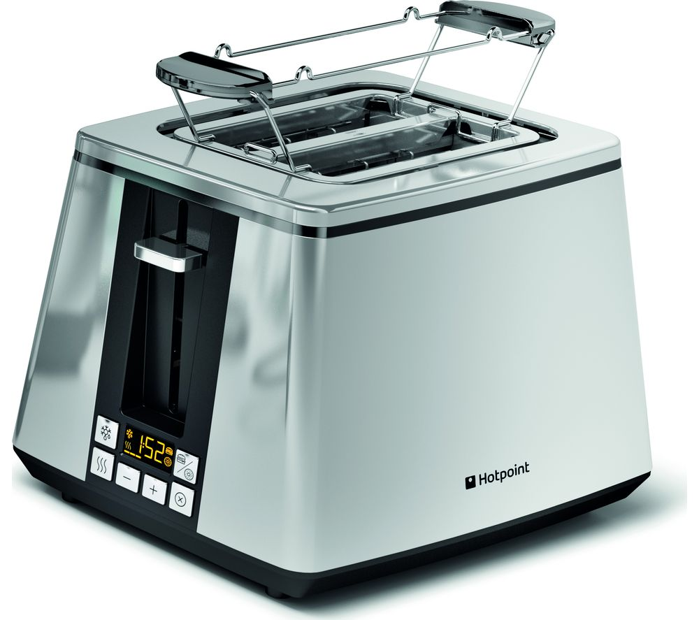 HOTPOINT Ultimate Collection TT 22E UP0 2-Slice Toaster - Silver