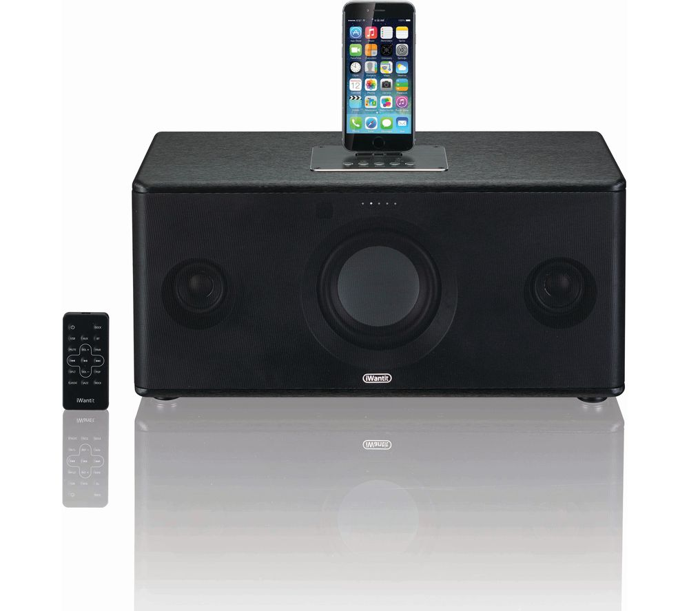 IWANTIT IBTLIA17 Bluetooth Wireless Docking Station - Black