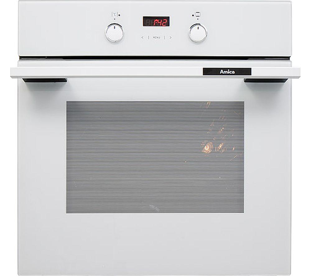 Image of AMICA 1053.3TsW Electric Oven - White, White