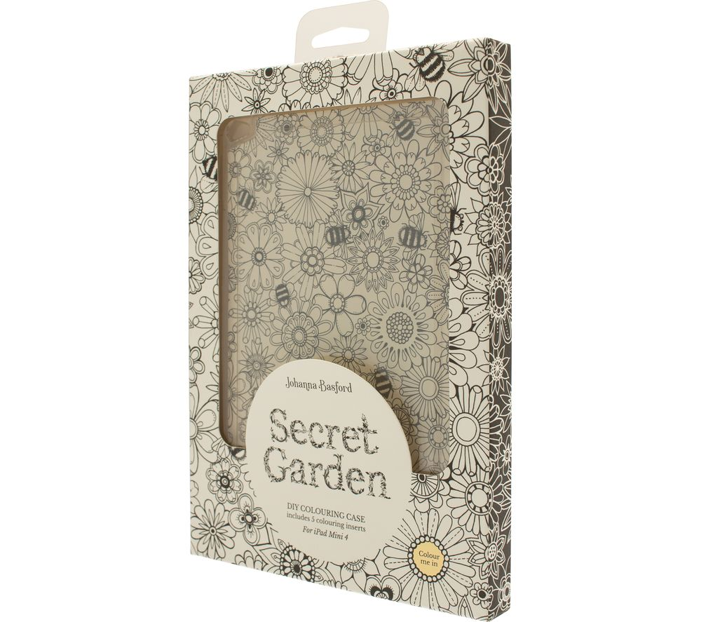 JOHANNA BASFORD Secret Garden iPad Mini 4 Case
