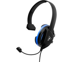 TURTLE BEACH Recon Chat Gaming Headset - Black & Blue
