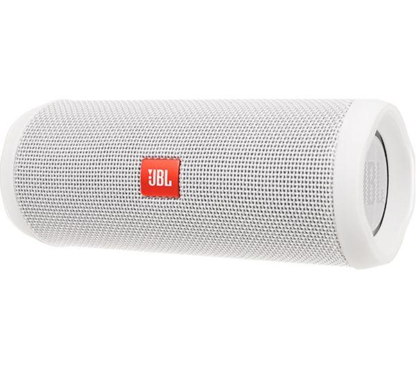 JBL Flip 4 Portable Bluetooth Wireless Speaker - White