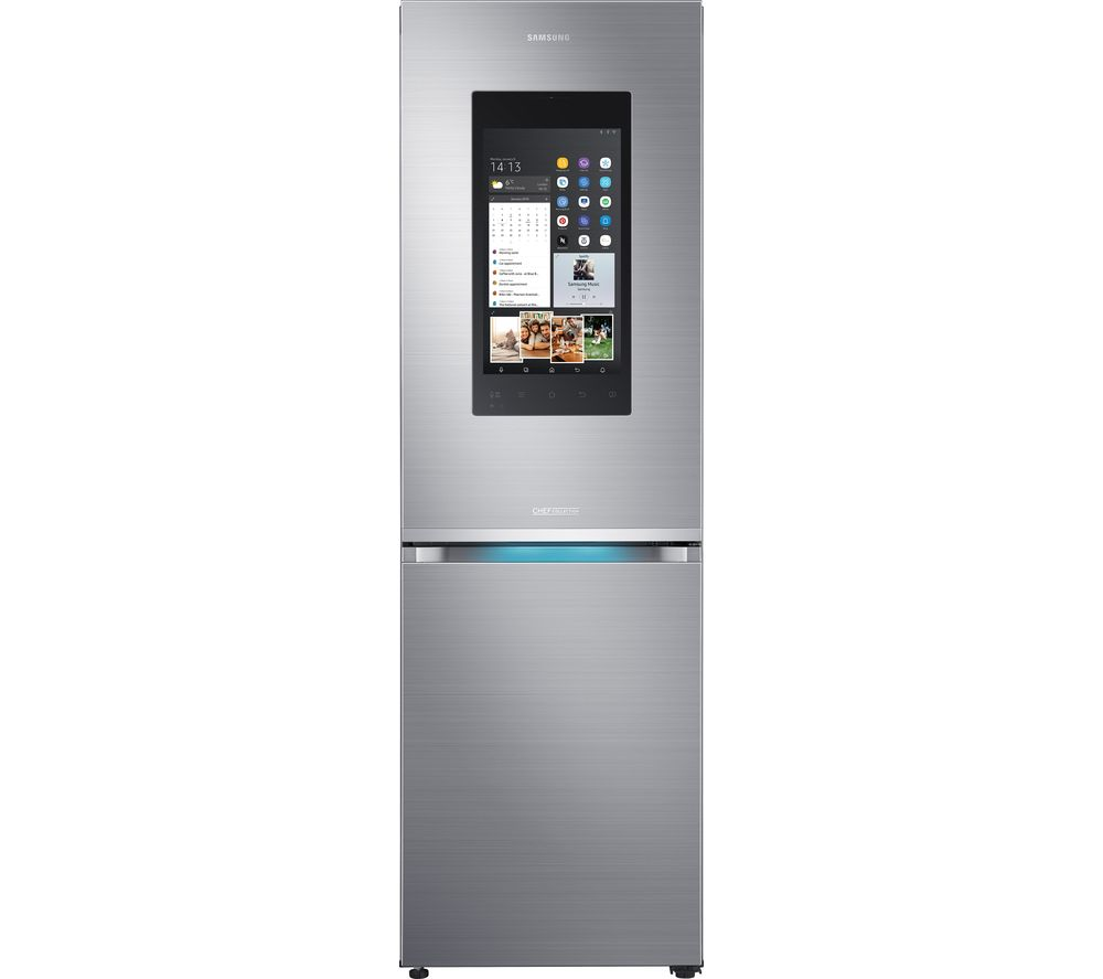 SAMSUNG Family Hub RB38M7998S4/EU Smart 63/37 Fridge Freezer - Real Stainless