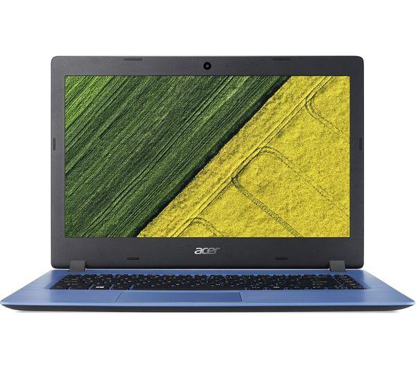 "Image of ACER Aspire 1 A114-31 14"" Intel® Celeron® Laptop - 32 GB eMMC, Blue"