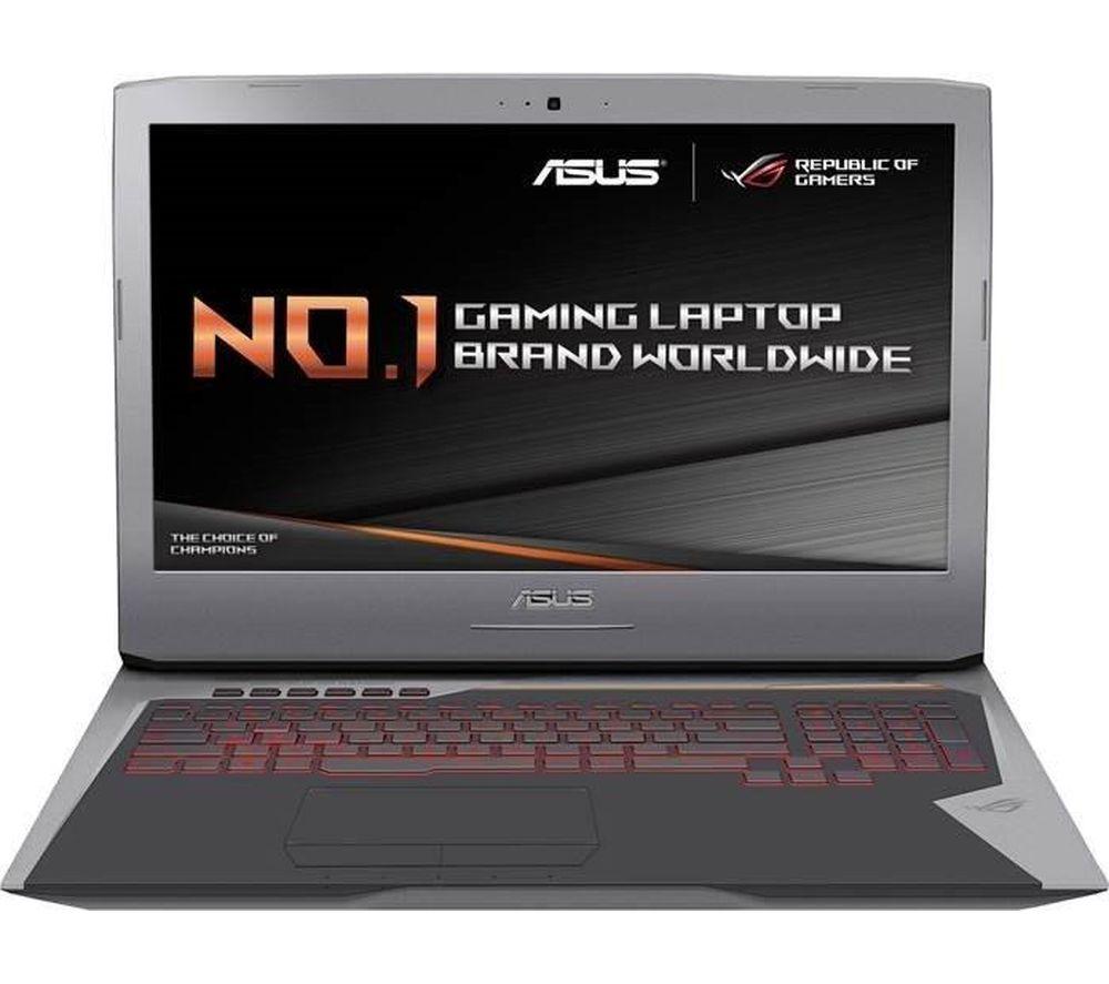 "Image of ASUS Republic of Gamers G752VS 17.3"" Gaming Laptop - Grey, Grey"
