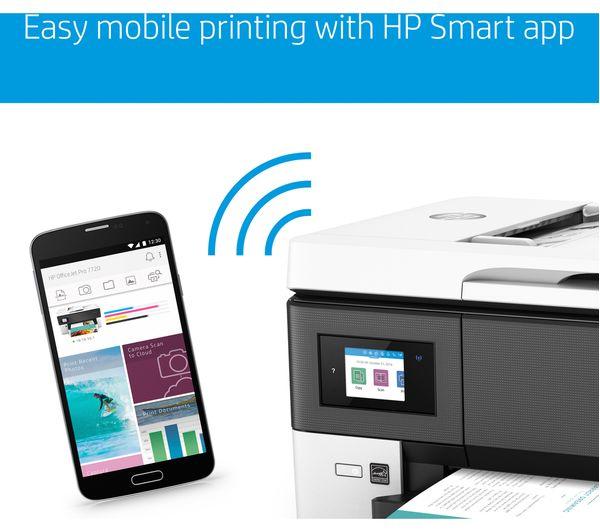 Buy Hp Officejet Pro 7720 All In One Wireless A3 Inkjet