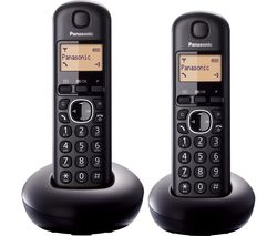 PANASONIC KX-TGB212EB Cordless Phone - Twin Handsets