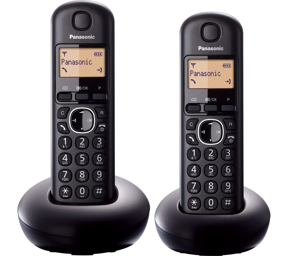 Panasonic Kx Tgb212eb Cordless Phone Twin Handsets