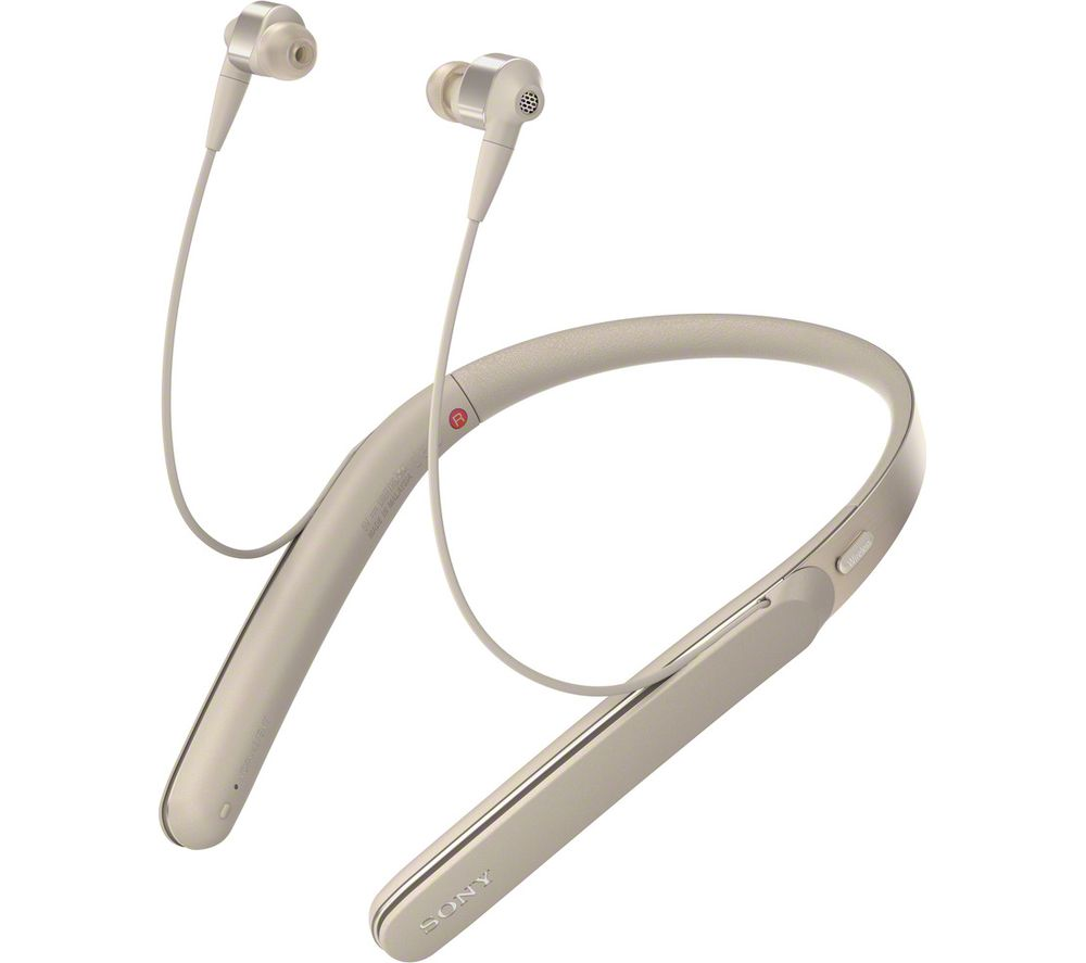 SONY WI-1000XN.CE7 Wireless Bluetooth Noise-Cancelling Headphones - Gold