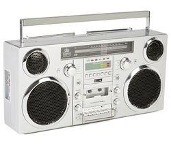 GPO Brooklyn Retro DAB/FM Bluetooth Boombox - Grey