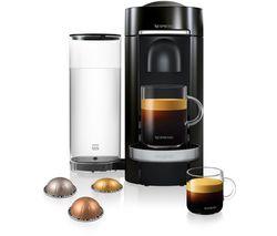 NESPRESSO by Magimix Vertuo Plus M600 Coffee Machine - Piano Black