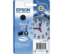 EPSON Alarm Clock 27 Black Ink Cartridge