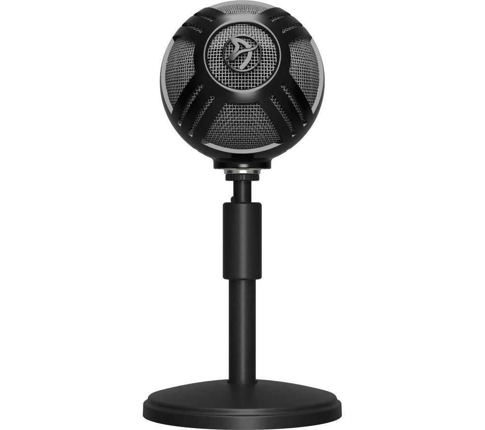 AROZZI Sfera Pro USB Microphone – Black
