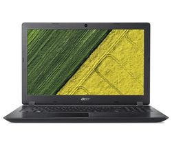 "ACER Aspire 3 A315-51 15.6"" Intel® Core™ i3 Laptop - 128 GB SSD, Black"