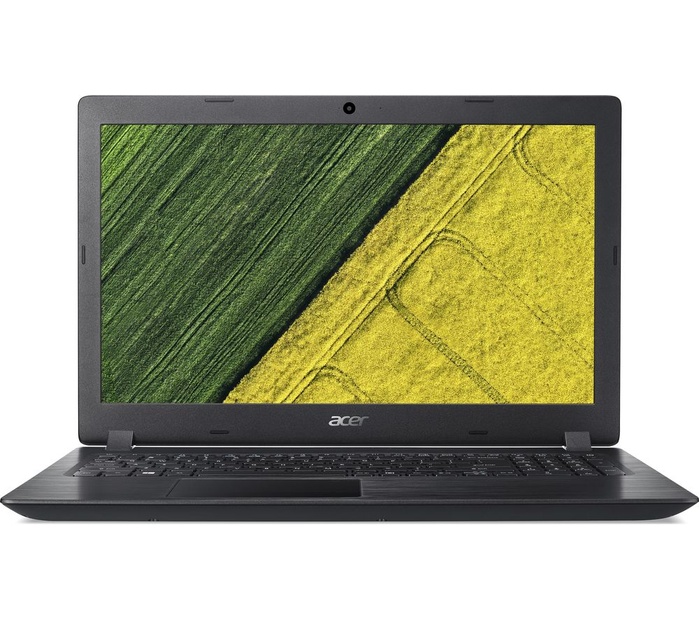 "Image of ACER Aspire 3 A315-51 15.6"" Intel® Core™ i3 Laptop - 128 GB SSD, Black, Black"