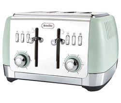 BREVILLE Strata VTT768 4-Slice Toaster - Green