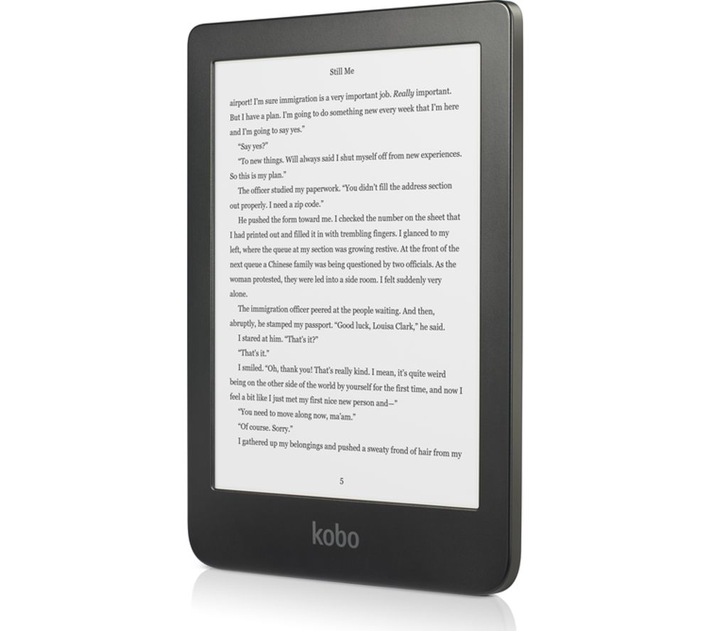 "Image of Kobo Clara HD 6"" eReader - 8 GB, Black, Black"