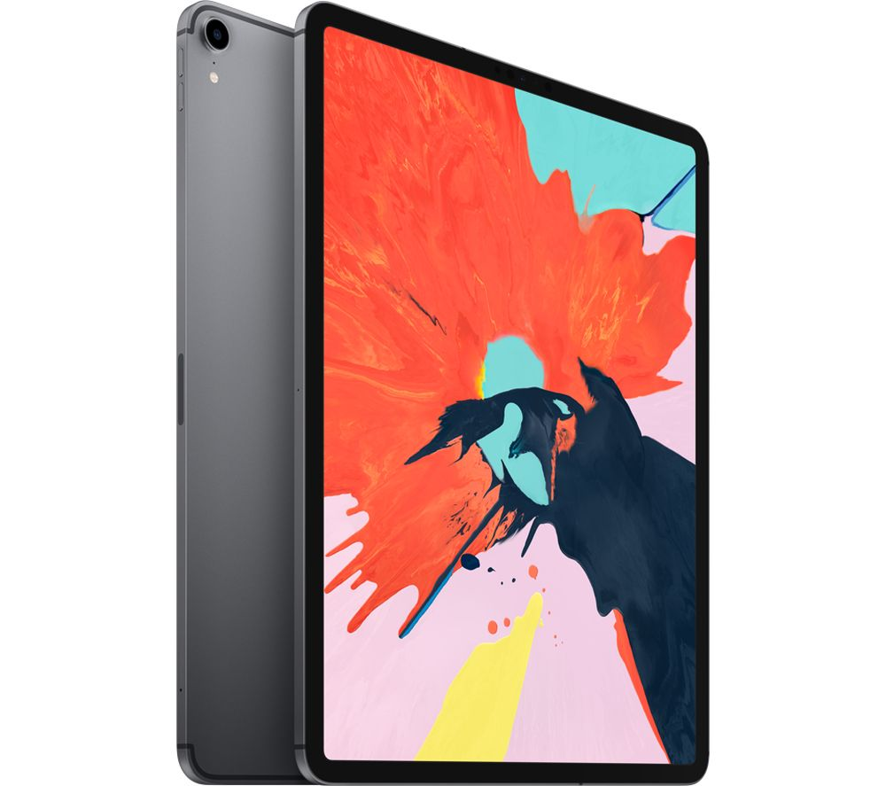 "Image of 12.9"" iPad Pro Cellular (2018) - 64 GB, Space Grey, Grey"