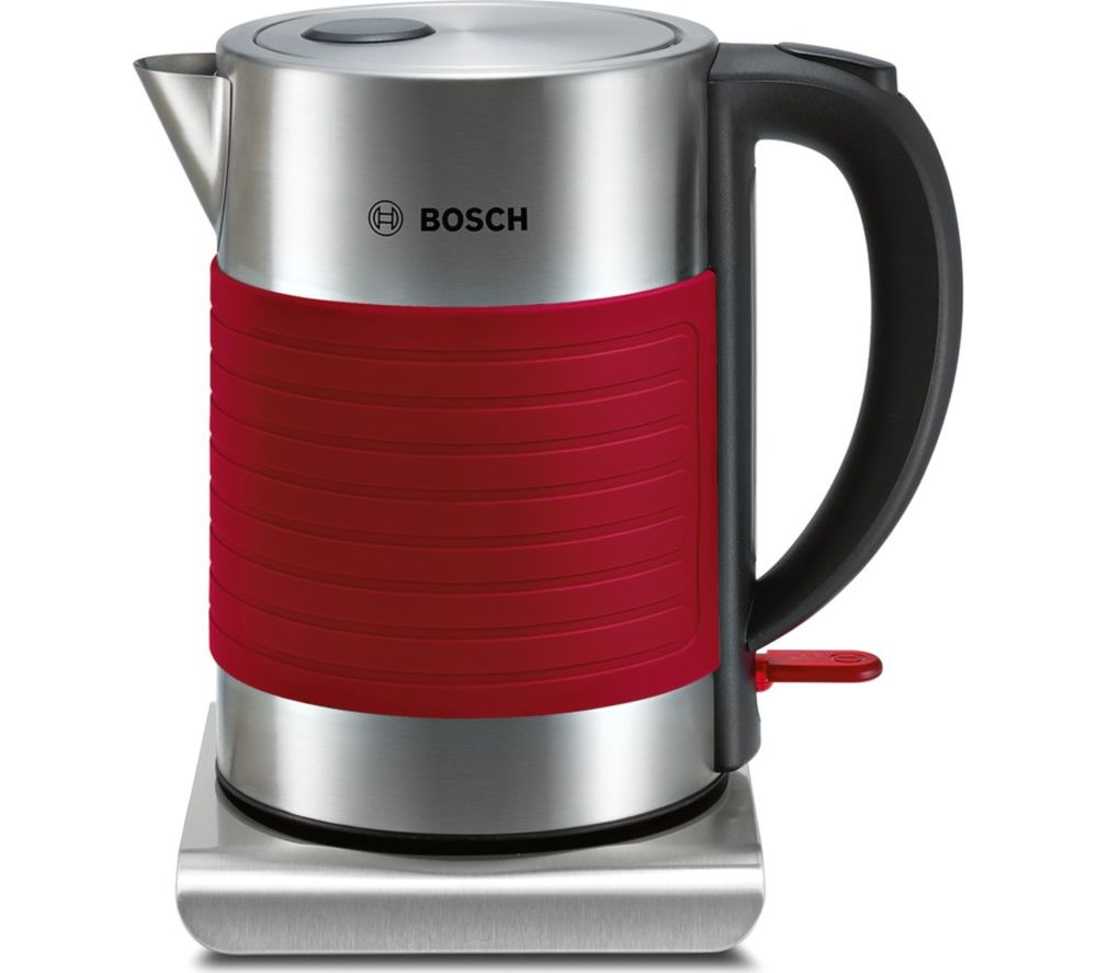 BOSCH TWK7S04GB Traditional Kettle - Red, Red