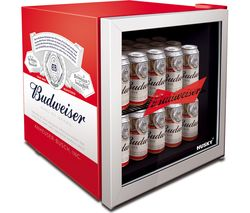 Budweiser HUS-HU253 Drinks Cooler - Red